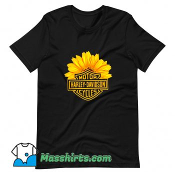 Cool Harley Davidson Motorcycle Racing T Shirt Design