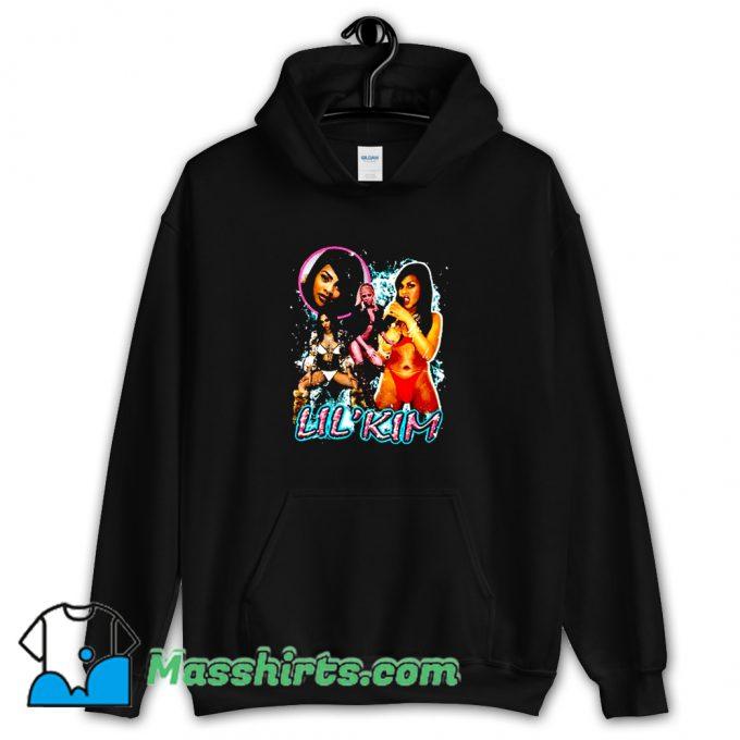 Cool Lil Kim Bikini Retro 90s Hoodie Streetwear