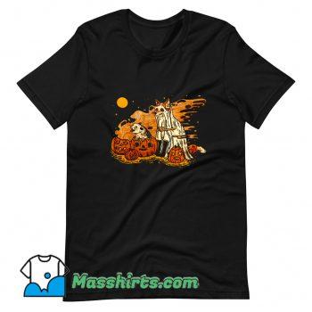Cool Spooky Pals Halloween T Shirt Design