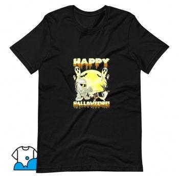 Cute Australian Shepherd Happy Halloween T Shirt Design