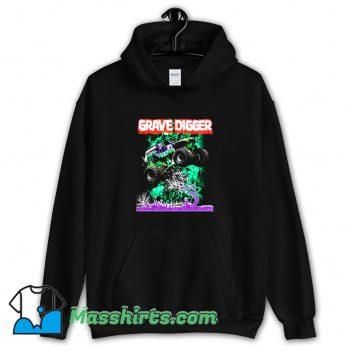 Cute Gravedigger Monster Truck Hoodie Streetwear