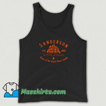 Cute Sanderson Witch Museum Halloween Tank Top