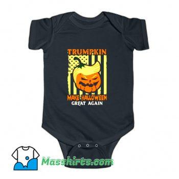 Donald Trump Make Halloween Great Pumpkin Baby Onesie