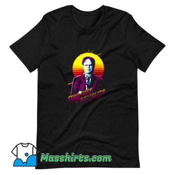 Dwight Schrute The Office Rainn Wilson T Shirt Design
