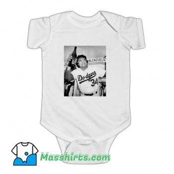 Fernando Valenzuela Champions Baby Onesie