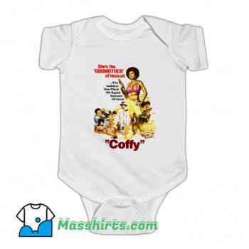 Foxy Brown Retro Movies Baby Onesie