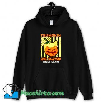 Funny Donald Trump Make Halloween Great Pumpkin Hoodie Streetwear