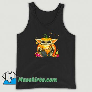 Funny Happy Halloween Witch Pumpkin Tank Top