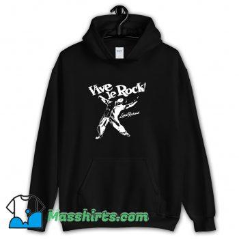 Funny Little Richard Vive Le Rock Hoodie Streetwear