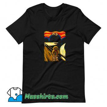 Gingerbread Cookie Monster Scream T Shirt Design On Sale