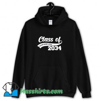 Graduation Class Of 2034 Hoodie Streetwear