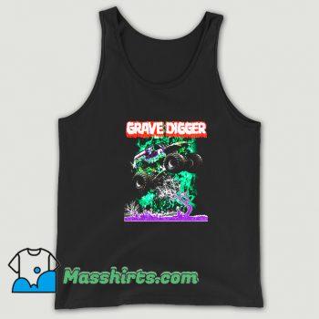 Gravedigger Monster Truck Tank Top