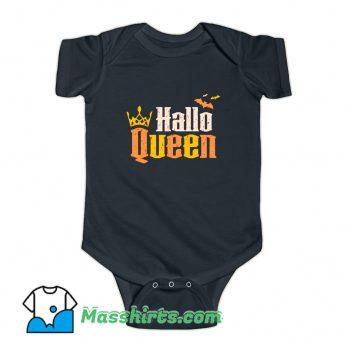 Hallo Queen Halloween Trick Or Treat Baby Onesie