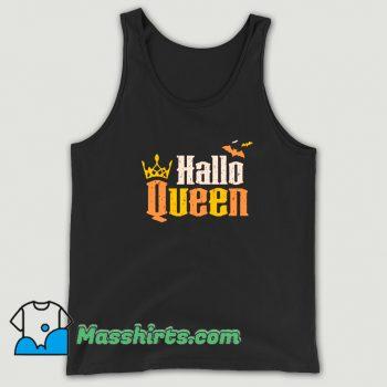 Hallo Queen Halloween Trick Or Treat Tank Top