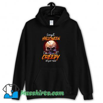 I Am Creepy All Year Round Halloween Hoodie Streetwear On Sale