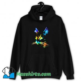 Inspirational Cat Colourfull Hoodie Streetwear