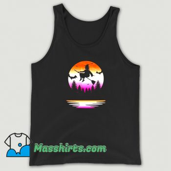 Lesbian Pride Halloween Witch Funny Tank Top