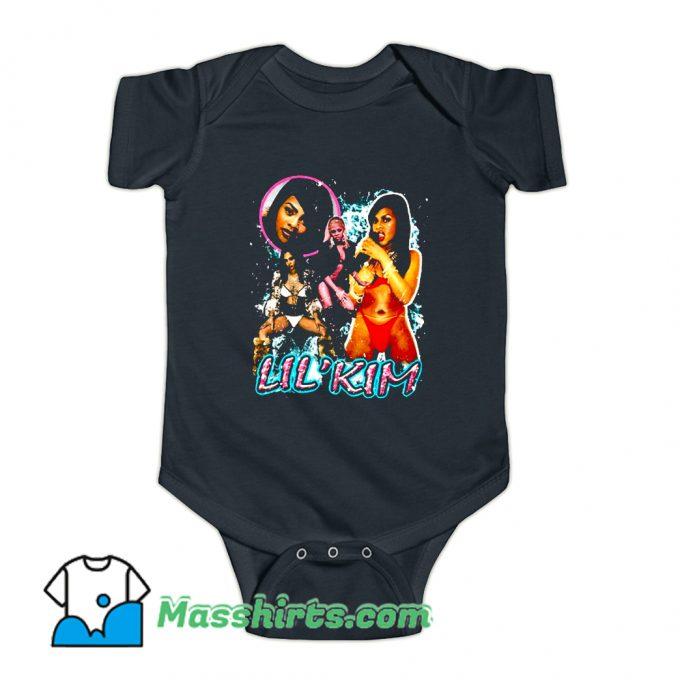 Lil Kim Bikini Retro 90s Baby Onesie