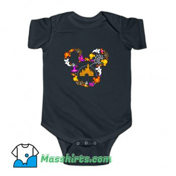 Mickey Mouse Halloween Baby Onesie