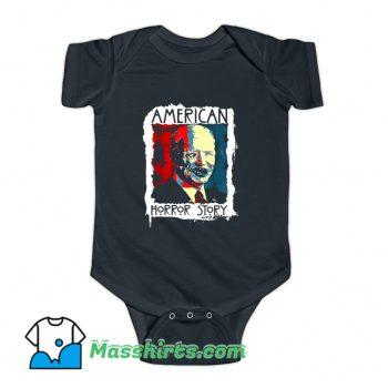 New Biden Horror American Zombie Baby Onesie