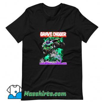 New Gravedigger Monster Truck T Shirt Design