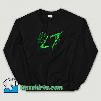 New L7 Band Hands Sweatshirt