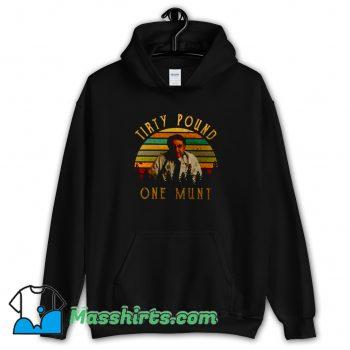 New Tirty Pound One Munt 90s Hoodie Streetwear
