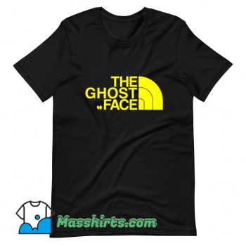 The Ghost Face T Shirt Design