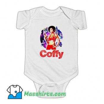Pam Grier Foxy Brown Coffy Baby Onesie