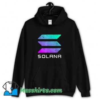 Solana Crypto Currency Altcoin Hoodie Streetwear