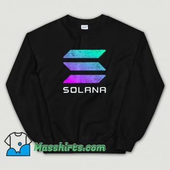 Solana Crypto Currency Altcoin Sweatshirt