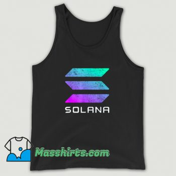 Solana Crypto Currency Altcoin Tank Top