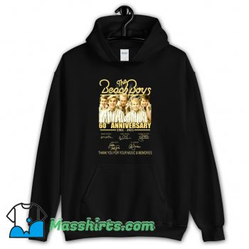 The Beach Boys 60th Anniversary Hoodie Streetwear