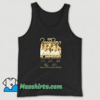 The Beach Boys 60th Anniversary Tank Top On Sale