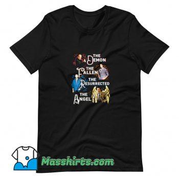 The Demon The Fallen The Resurrected The Angel T Shirt Design