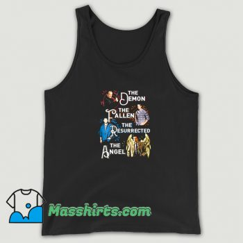 The Demon The Fallen The Resurrected The Angel Tank Top
