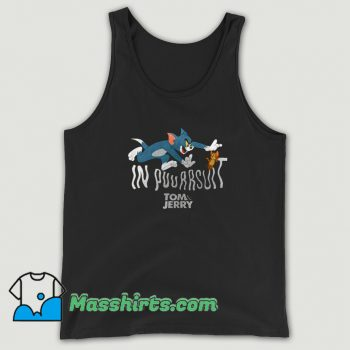 Tom And Jerry In Pursuit Movie Tank Top