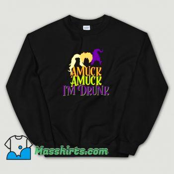 Vintage Amuck Amuck I Am Drunk Sweatshirt