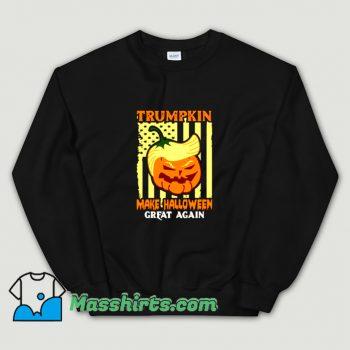 Vintage Donald Trump Make Halloween Great Pumpkin Sweatshirt