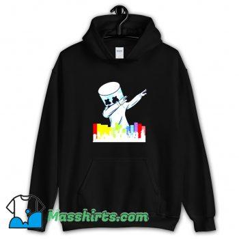 Vintage Marshmallow Dancing DJ Hoodie Streetwear