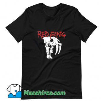 Vintage Red Fang T Shirt Design