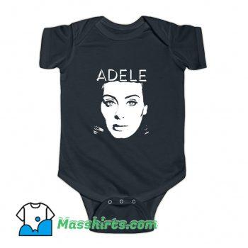 Adele Face Baby Onesie On Sale