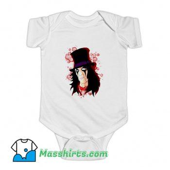 Alice Cooper Music Lover Baby Onesie