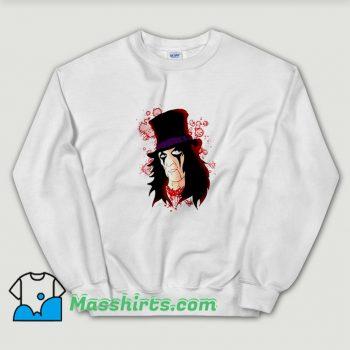 Alice Cooper Music Lover Sweatshirt On Sale