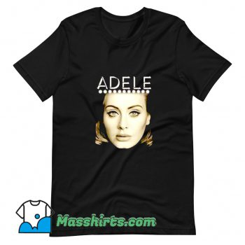 Awesome Adele Portrait Love World Tour T Shirt Design
