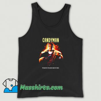 Awesome Candyman Horror Movies Tank Top