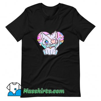 Awesome Pastel Goth Menhera T Shirt Design