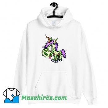 Awesome Zombie Unicorn Magic Hoodie Streetwear