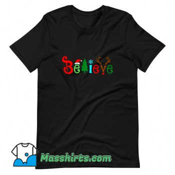 Believe Christmas T Shirt Design On Sale