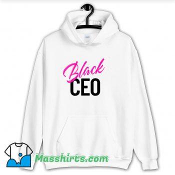 Best Black Ceo Business Owner Hoodie Streetwear